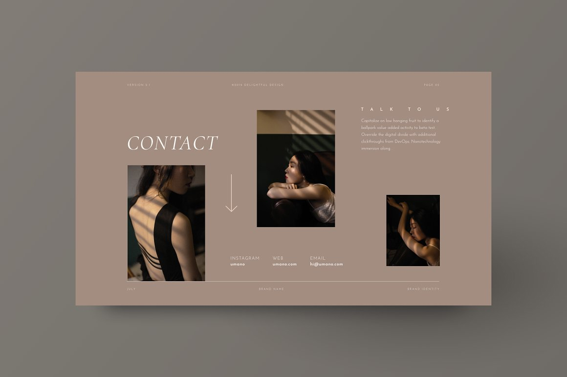 Elegant Brand Style Guide Template