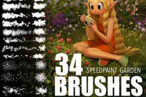 Garden Brushes for Speedpaint