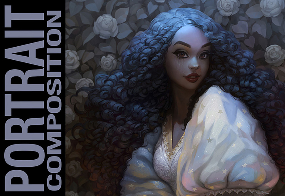 How To Draw - Portrait Composition