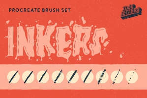 Inkers Procreate Brush Set