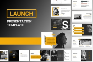 Launch Google Slides Template