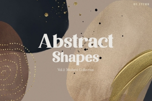Modern Abstract Shapes 2