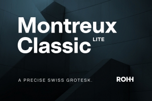 Montreux Classic Lite - Modern Swiss Grotesk
