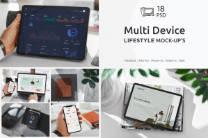 Multi Device Mockup Lifestyle