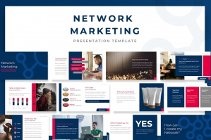 Network Marketing Powerpoint Template