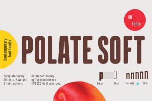 Polate Soft Font Family