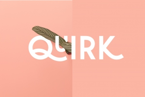 Quirk - Fun Display Font