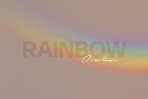 Rainbow Photoshop Overlays