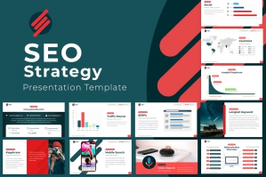 SEO Strategy Powerpoint Template