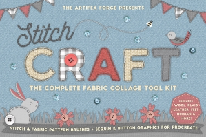 Stitch Craft - Procreate Brushes