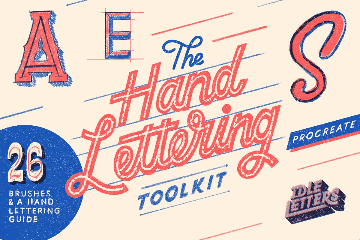 The Procreate Hand Lettering Toolkit