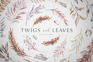 Twigs and Leaves Collection