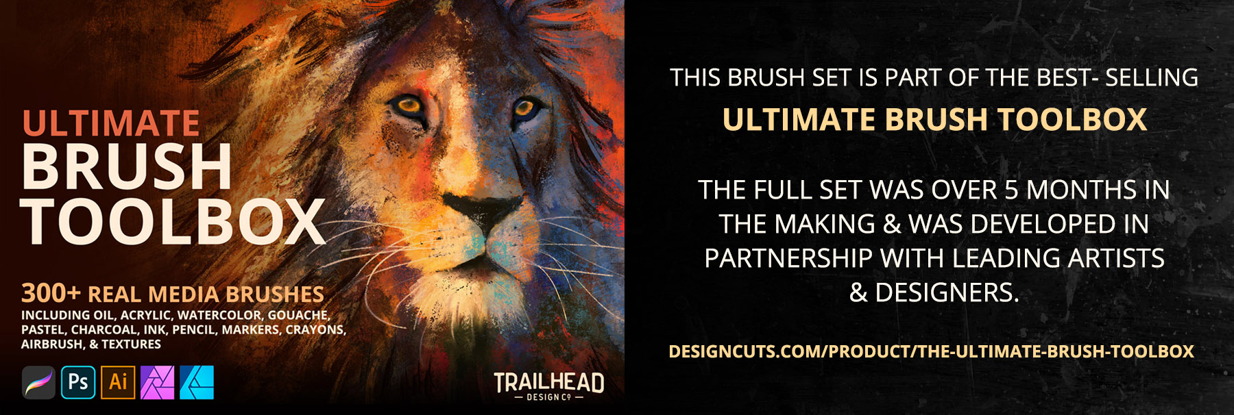 Ultimate Brush Toolbox - Oil Brushes