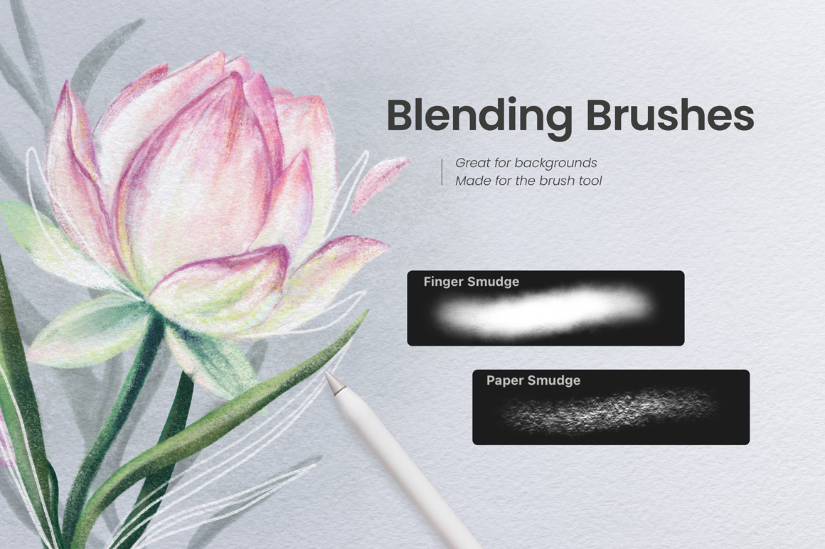 Ultimate Pastel & Chalk Brushes For Procreate