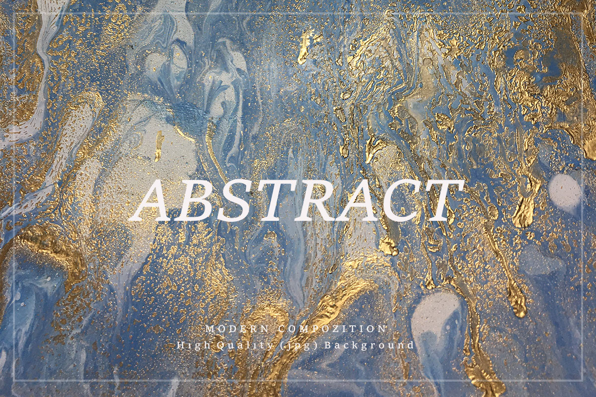 Abstract Gold Acrylic Background