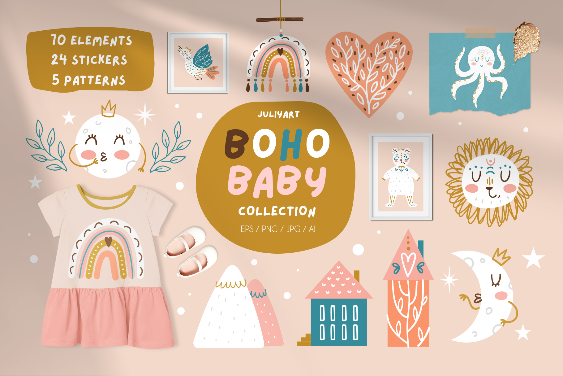 Bohemian Baby Collection