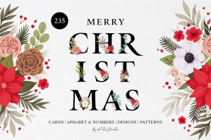 Christmas Cards & Alphabet
