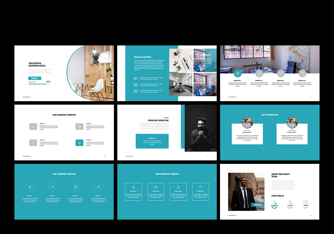 Cope Business Keynote Template