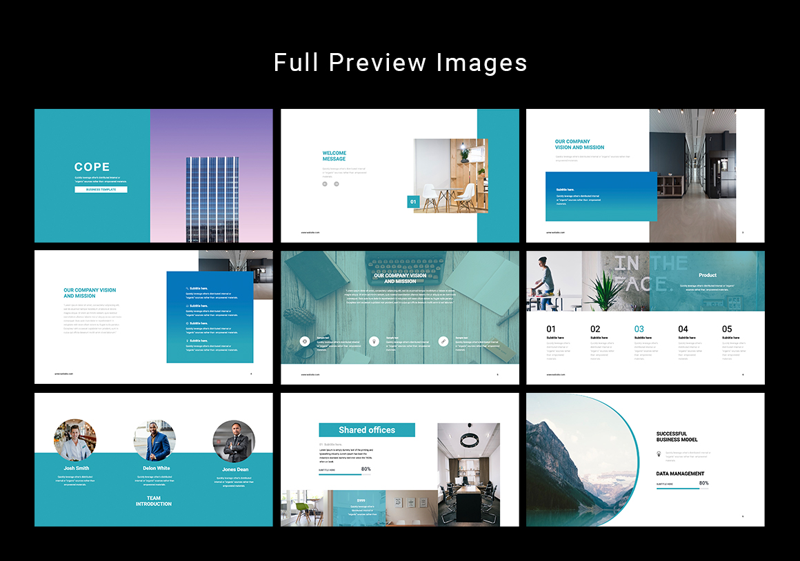 Cope Business Powerpoint Template