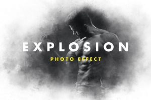 Dust Explosion Photo Effect