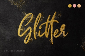Fancy Glitter Text Effect
