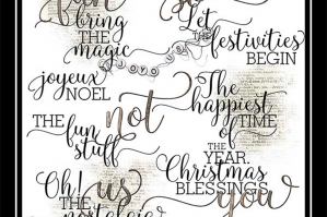 Holiday WordART Mix No. 7