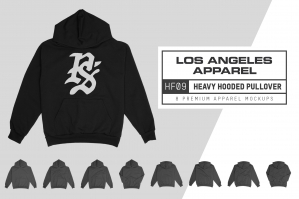 Los Angeles Apparel HF09 Hooded Sweatshirt