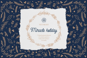 Miracle Holiday - Vector Set