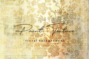 Paint Texture & Floral Backgrounds