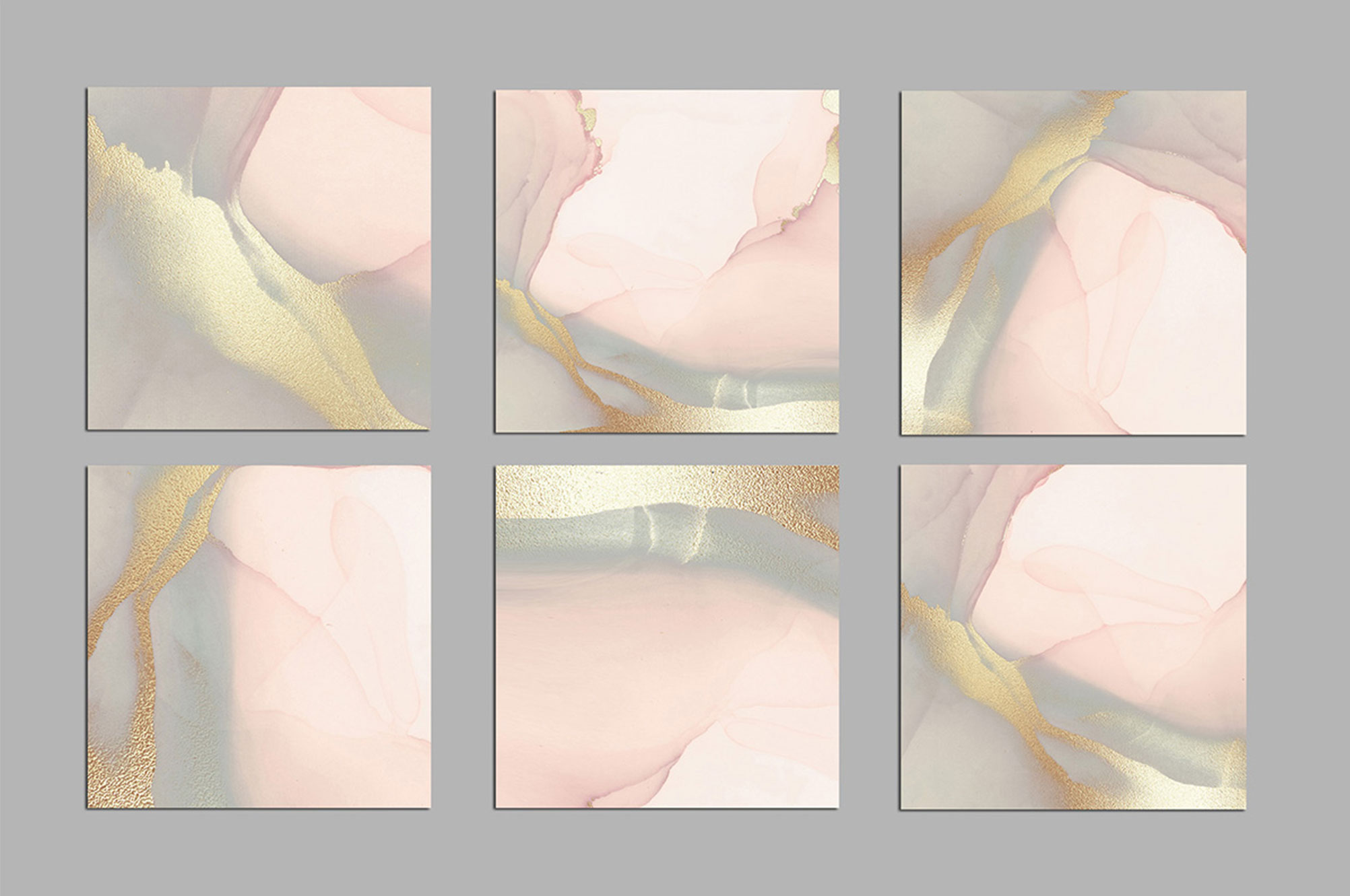 Pink Watercolor Gold Backgrounds