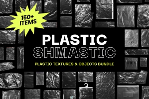 Plastic Shmastic - Textures & Objects Bundle