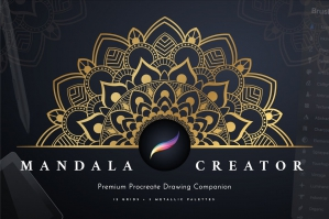 Procreate Mandala Creator Template