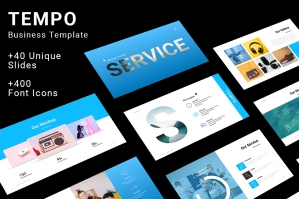 Tempo Business Powerpoint Template