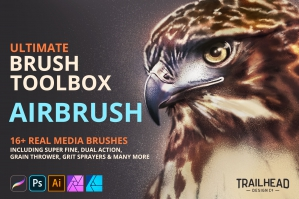 Ultimate Brush Toolbox - Airbrush