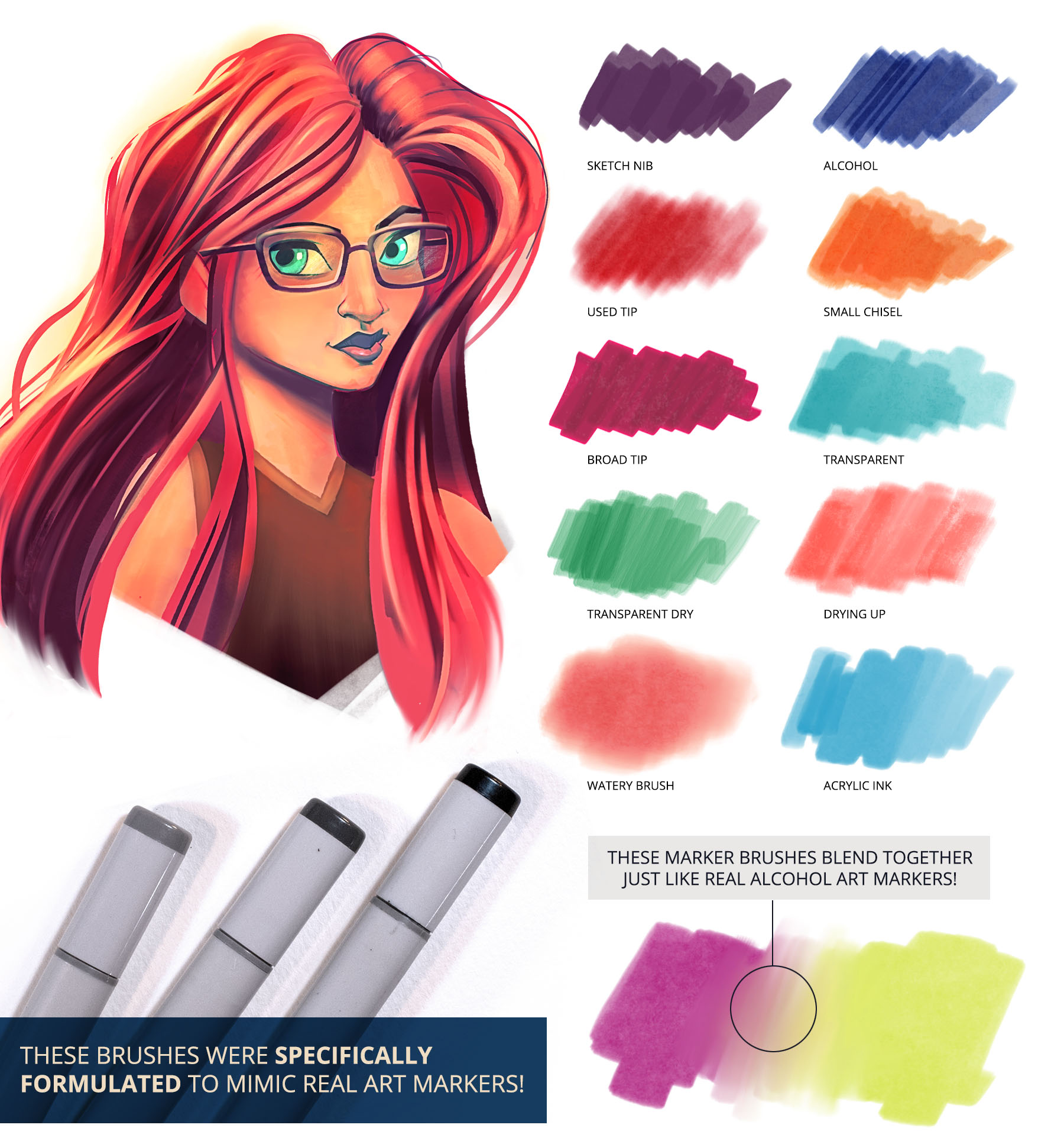Ultimate Brush Toolbox - Markers