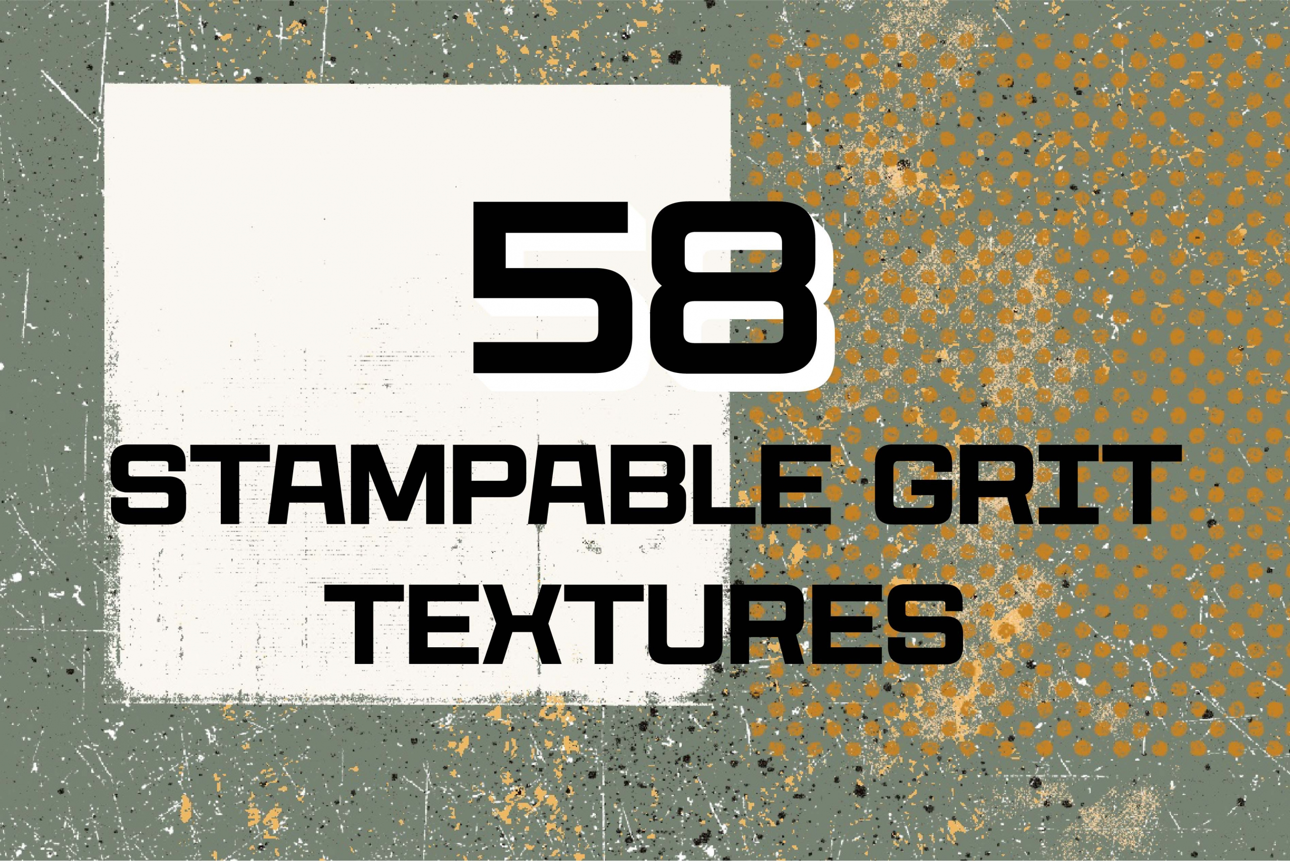 116 Stampable Procreate Texture Brushes