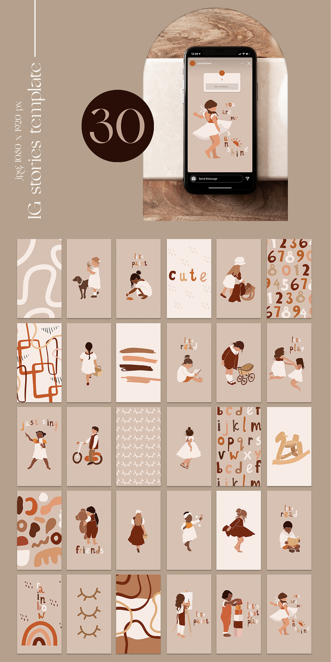 Abstract Collection. Kids Activities