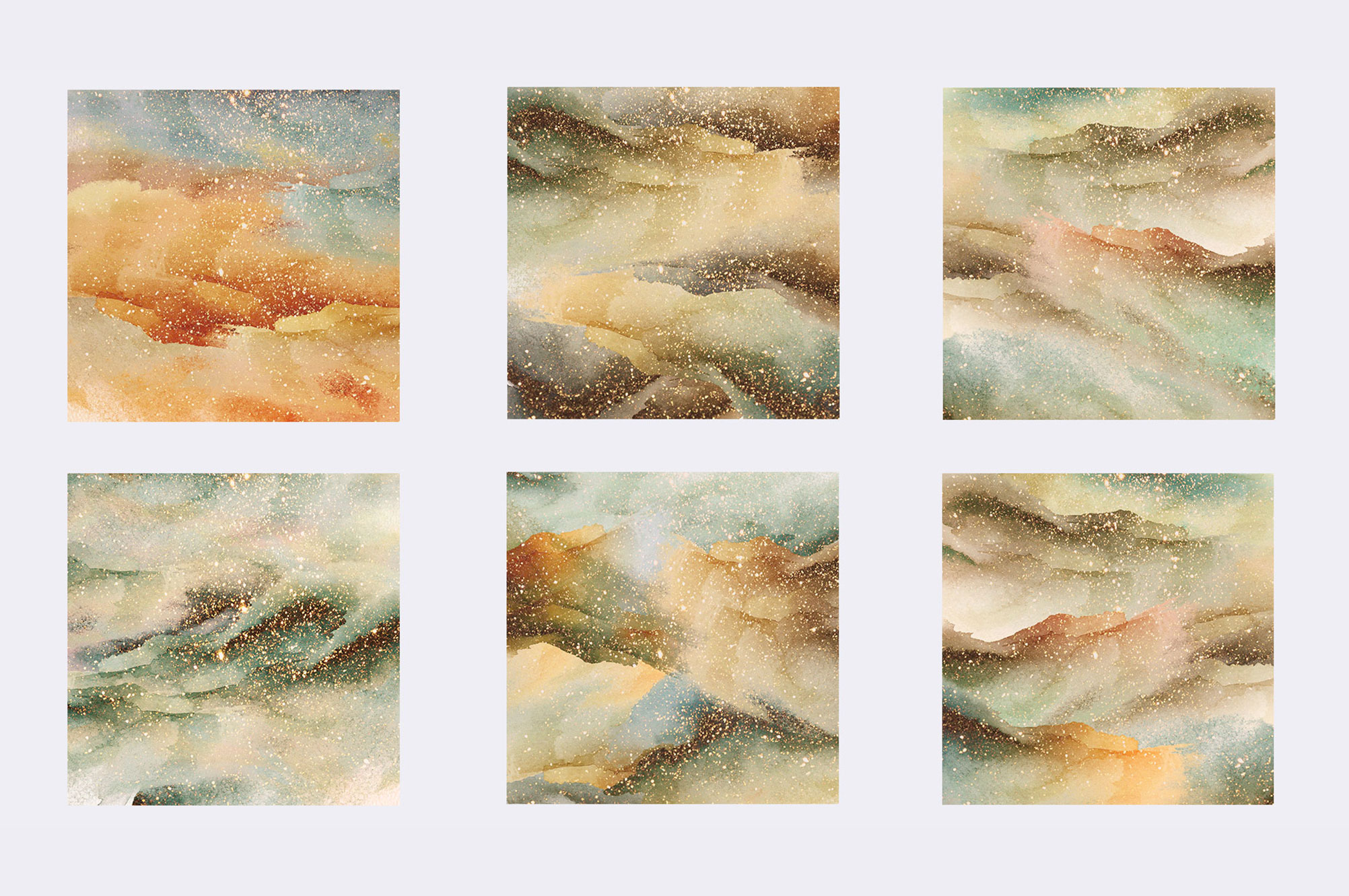 Abstract Watercolor Background 2
