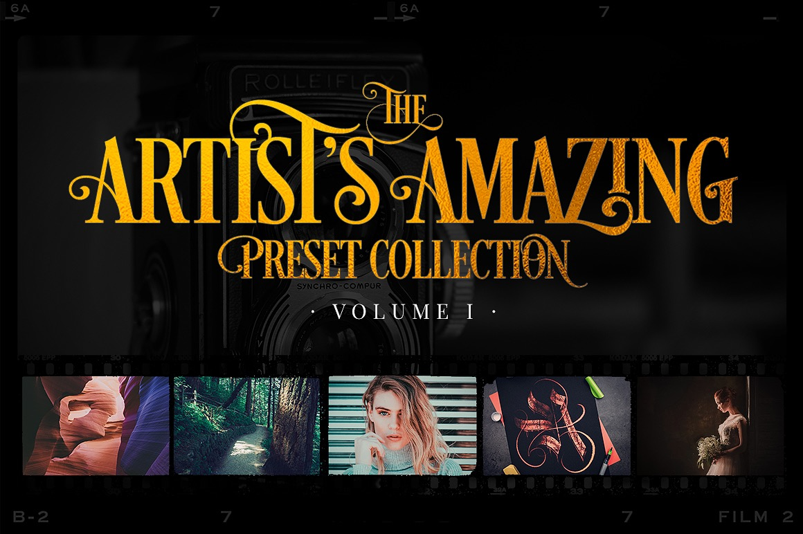 Artist's Amazing Preset Collection Vol. I