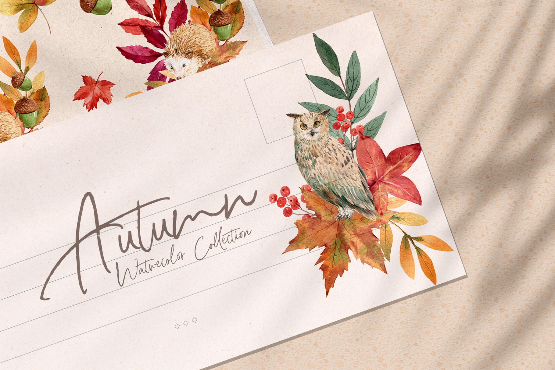 Autumn is Calling Watercolor
