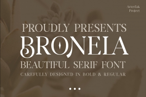 Bronela - Fashionable Serif