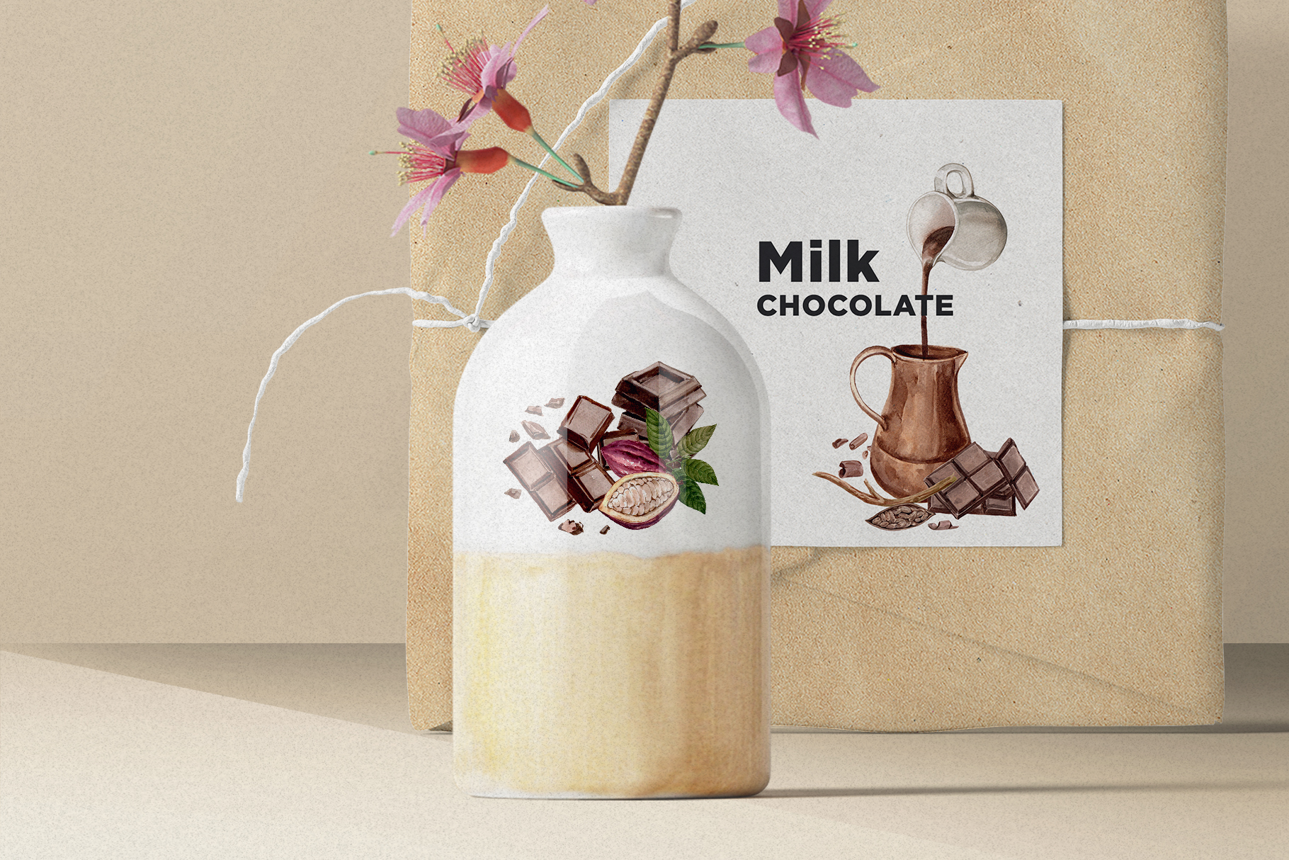 Craft Chocolate Watercolor