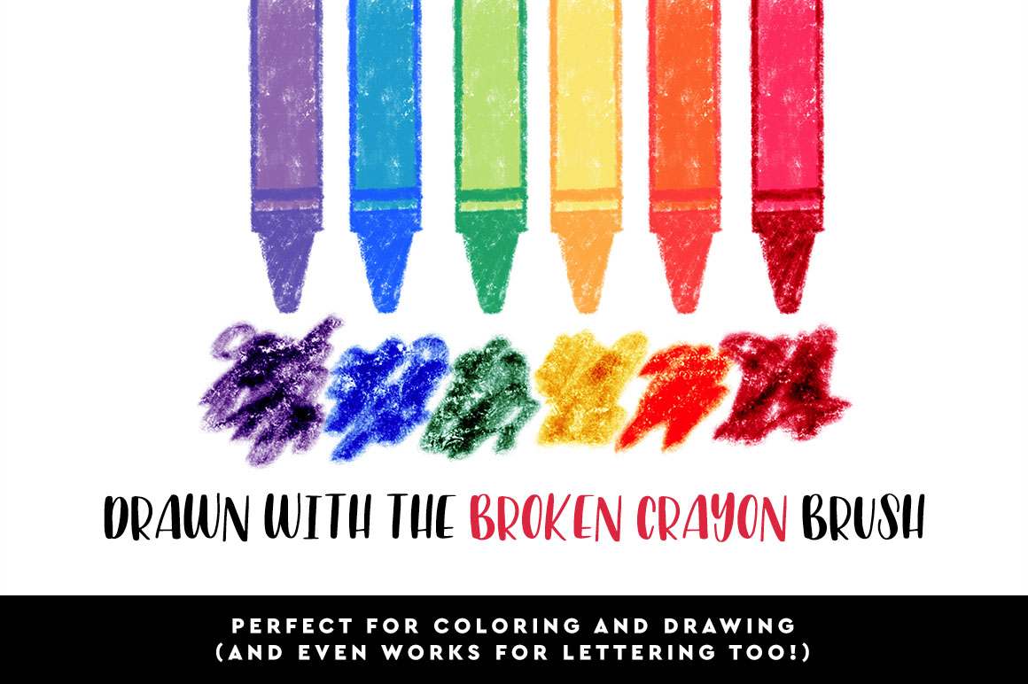 Crayon Procreate Brushes