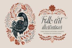 Folk Art Illustrations
