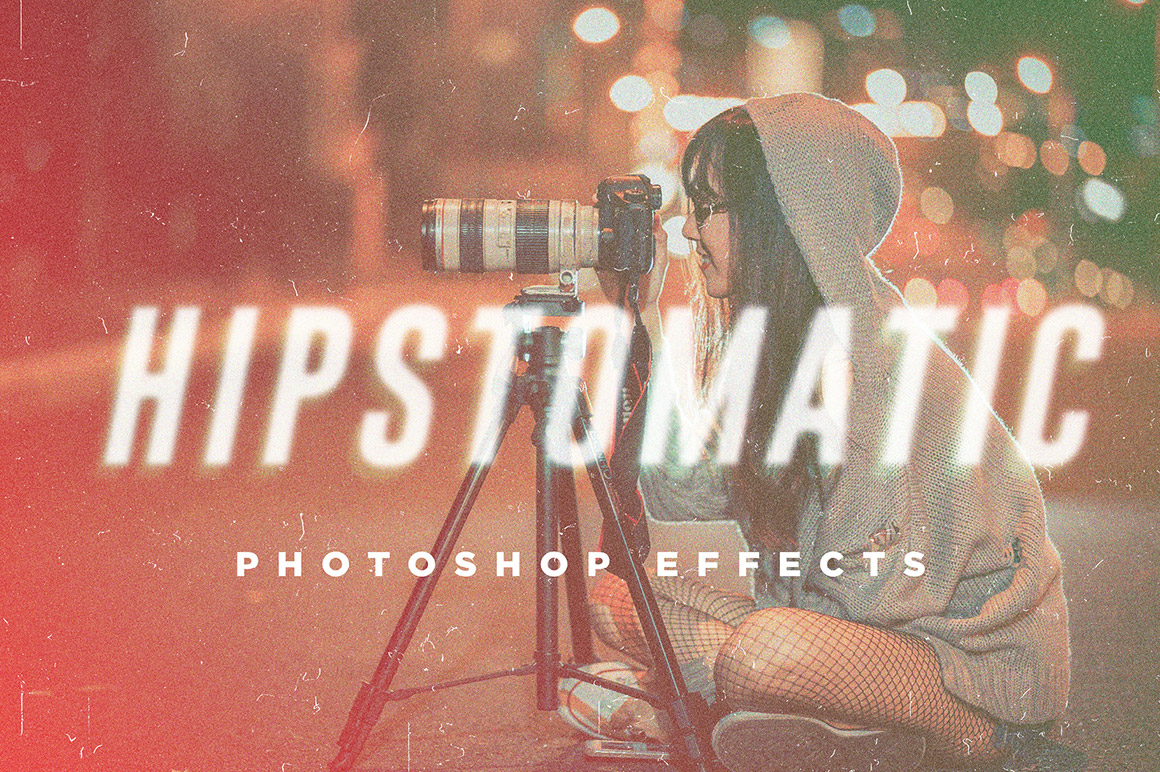 Hipstomatic Photoshop Effects