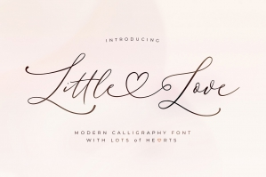 Little Love - Modern Calligraphy Font