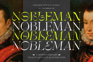 Nobleman - Stylish Serif Family