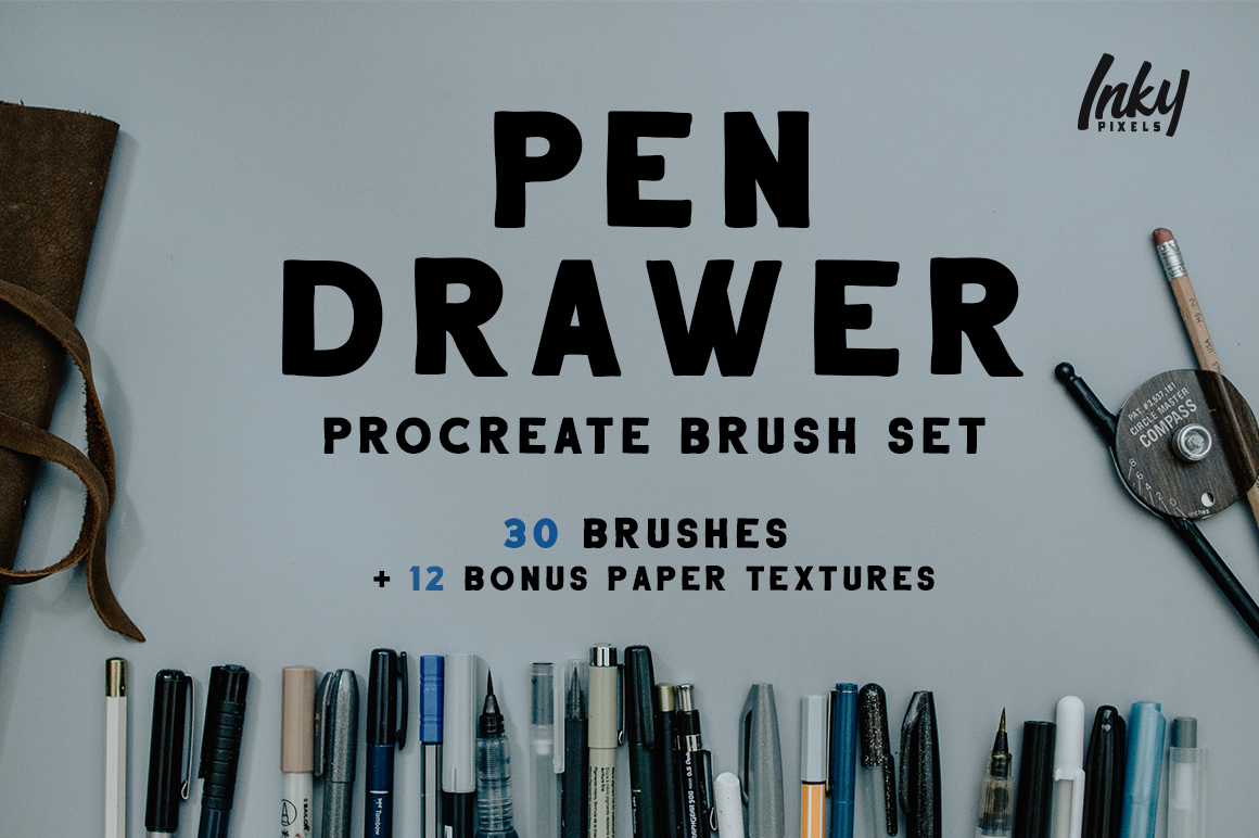 Pen Drawer Procreate Pack