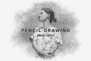 Pencil Drawing Photo Effect