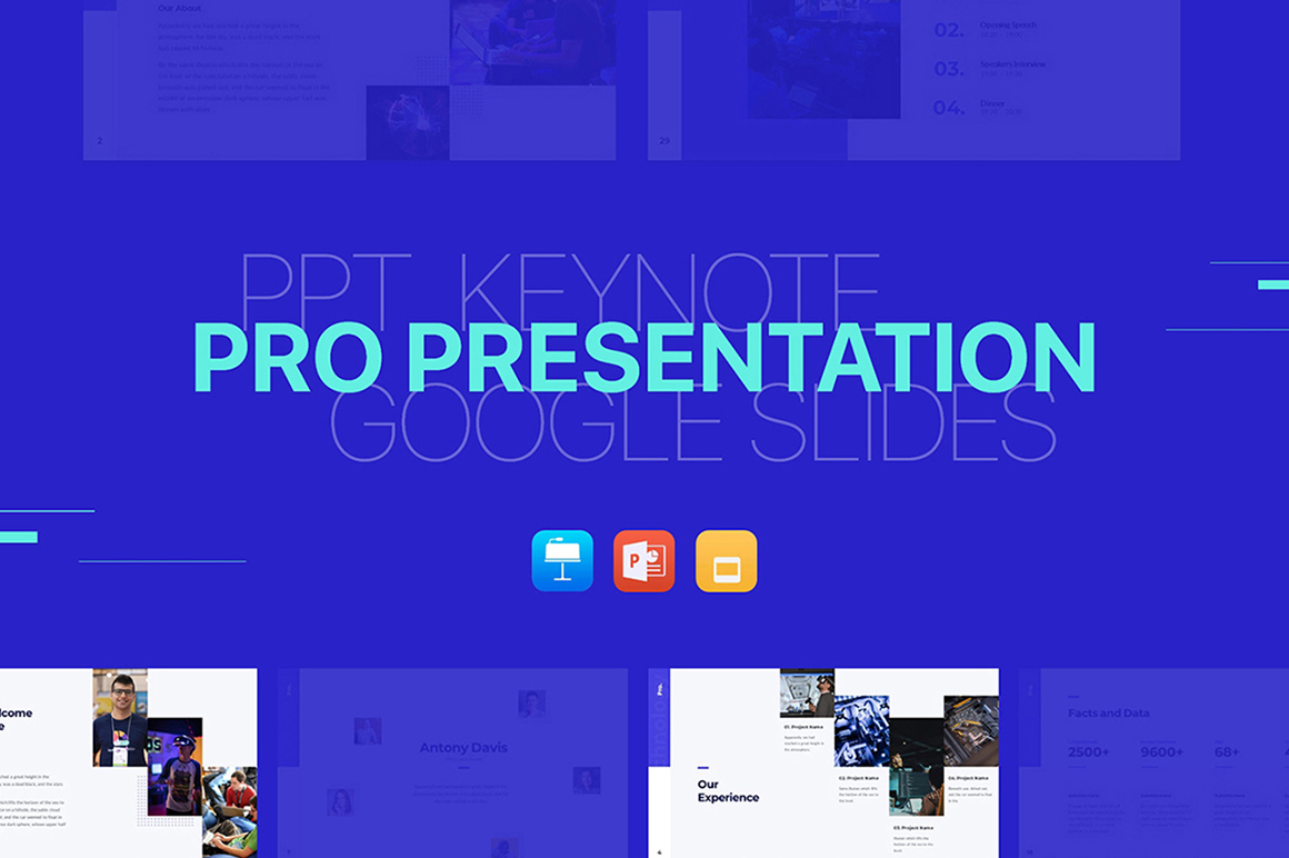 Pro Presentation - Smooth Animated Template
